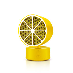 JISULIFE NF1 Desktop Electric Heater 350W 2 Gear PTC Ceramic Heating from Xiaomi Ecological Chain Lemon Shape for Office Home Non-original