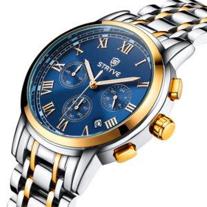STRYVE S9601 Luminous 24hours Display Men Quartz Watch