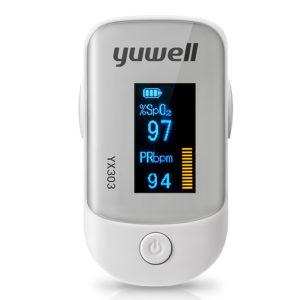 YUWELL YX303 Pulse Finger Oximeter Meter LED Display Riktning Bärbar Pulsoximeter Blood Monitor Färg Syre SPO2 från Xiaomi Ecological Chain