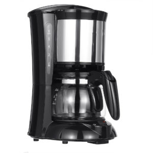 600W 650ml hushålls dropp-typ kaffebryggare amerikansk kaffe te Maker dubbel användning