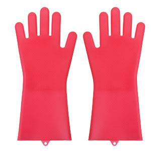 Multifunctional Durable Silicone Washing Gloves Cooking Glove Cleaning Tools