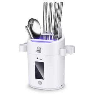 Ultraviolett intelligent steriliseringspinnehållare för köksförvaringsställ