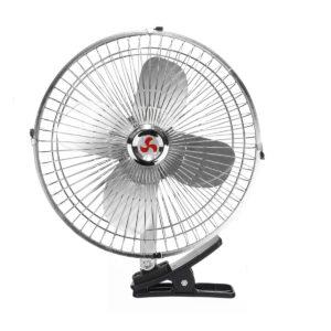 2 In 1 12V Car Clip-on Fan Mini 2 Speed Cooler Low Noise Car Air Conditioner Desk Fan