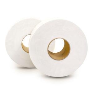 12 rullar vävnadspapper Kontorshem 3 lager tjock mjuk vävnadsrulle mjuk hudvänlig pappershandduk hushålls Kleenex toalettpapper