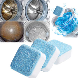 15PCS Washing Machine Cleaner Washer Cleaning Detergent Effervescent Tablet Spray Concentrate Home Cleaner Tool