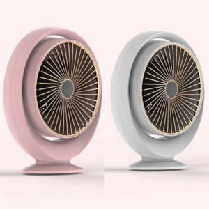 Mini Household Heater Warm Air Blower Table Top Heater for Office and Home