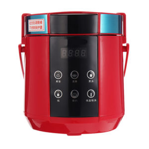 1.5L Mini Rice Cooker 250W 220V 24 Hours Smart Appointment Food-grade Non-stick Coating Four Functions