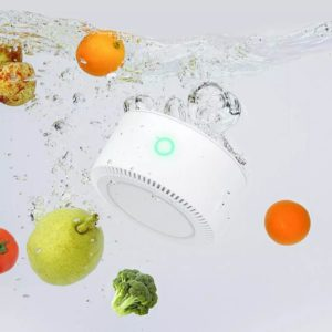 Youban Smart Portable IPX7 Fruit Vegetable Water Purifier Sterilization Pesticides Home Outdoor Food Sterilizer with Wireless Charge for Phone From