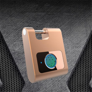 Bakeey bluetooth utomhus bärbar intelligent liten dörrlås telefonapp programvara kontroll fingeravtryck hänglås för smart hem