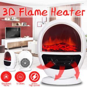 500W hemvärmare 3 växlar kontorsvärmare elektrisk värmare värmare luftradiatorvärmare