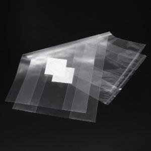 50Pcs 320x650x0.06mm PVC Mushroom Grow Bag Substrate High temp Pre Sealable