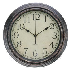 12'' Wall Clock Modern Vintage Rustic Wooden Home Kitchen Silent Quartz
