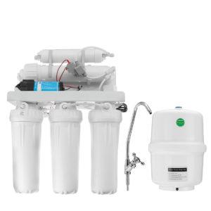 5-stegs undersänk Hemdrink omvänd osmos RO vattenfiltersystemkran