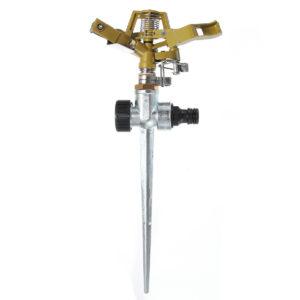360 Degree Rotary Zinc Alloy Sprayer Sprinkler For Home Garden Yard Lawn