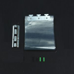 200*18*0.1cm PVC Plastic Strip Curtains Freezer Room Door Strip Kit Hanging Rail