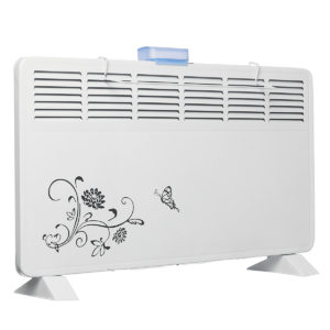220V 2000W Electric Heater Fan Wall Mounted 6 Air Outlet 2 Speeds Waterproof