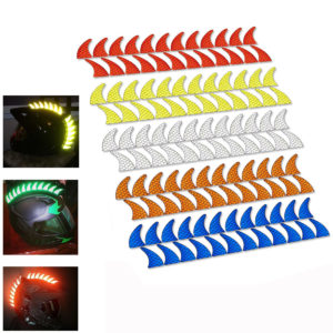 New Reflective Decals Sticker for Rubber Helmet Mohawk Warhawk Spikes Dirtbike Motorcycle