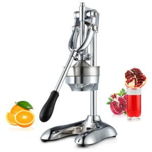 Handpress för presspress av rostfritt stål, presspress, citrus, citron, apelsin, granatäpple, fruktjuicextrakt