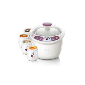 Bear DDZ-A35G1 3.5L/500W Multi-function Electric Stew Cooker Kitchen Electric Steamer With 5 Cooker