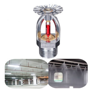 1/2 Inch 68℃ Pendent Fire Sprinkler Sprayer Head For Fire Extinguishing System Protection
