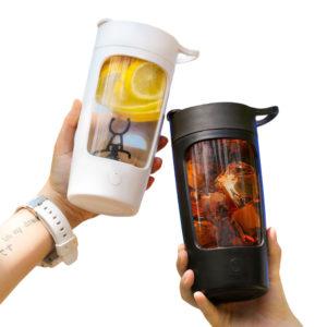 eQUra EQURA-02 650ML Portable Electric Milkshake Mixer Juicer Blender USB Charging Fruit Juicer Mix Cup