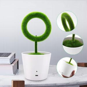 Mini Artificial Bonsai Fresh Anion Desktop Ionizer Purifier