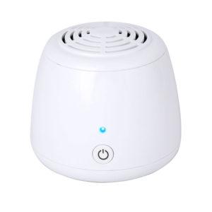 Mini AA-batteri luftrenare bil kylskåp deodorizer för hushålls sovrum garderob desinfektion