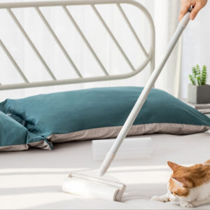 Jordan & Judy Retractable Roller Sticky Mop for Bed, Sofa, Floor Mat 130cm Rod