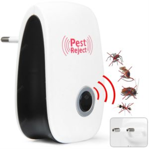 DC-9006W Ultrasonic Electronic Pest Repeller Mosquito Dispeller Mouse Rat Multi-function Rodent Insect Repellent Mini Insect Killer Dispeller Rode US EU Plug