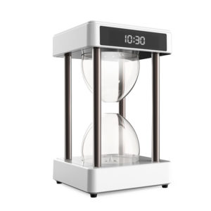 Anti-Gravity Air Purifier Hourglass Water Droplet Filter