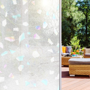 23''X47'' Window Film Glass Sticker PVC Frosted Privacy Screen Decor Home