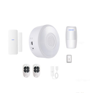 Bakeey RF433MHz 7 IN 1 WIFI DIY Smart Home Security Alarm System Kits PIR Movement Detector Door & Window Sensor Work With Amazon Alexa Tuya APP