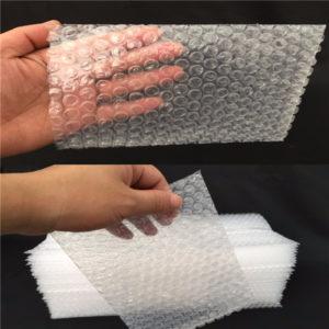 20st Clear Shakeproof återvinningsbara små förpackningspåsar Poly Bubble Wrap Bags
