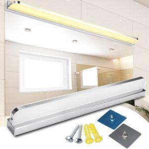 LED-spegel främre strålkastare toalett vägglampa hotell badrum skåp makeup ljus