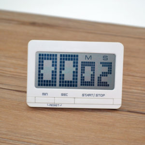 Bakeey LED Digital Display Alarm Clock Kitchen Baking Timing Reminder Timer with Calendar For Home Office Travel