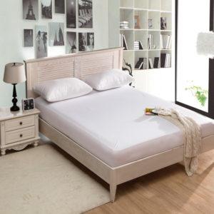 Vattentätt madrassöverdrag Luxury Terry Cloth Madrass Protector Bed Bug Proof Dust Madrass Cover