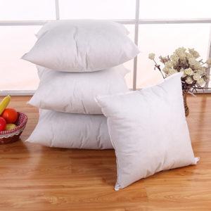 5 Size White Cushion Throw Pillow Sofa Waist Pillowcase Filler Inner PP Cotton