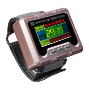 650nm Laser Therapy Wrist Apparatus High Blood Pressure Watch Monitor High Fat Blood