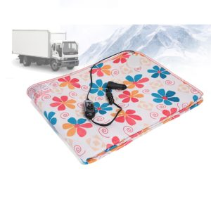 12V/24V Electric Car Blanket Heated Travel Throw Cosy Warm Winter for Outdoor Travel Thermal Equipment