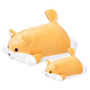 35/50CM Kawaii Cartoon Cute Shiba Inu Soft Cushion Pillow Dog Stuffed Plush Toy