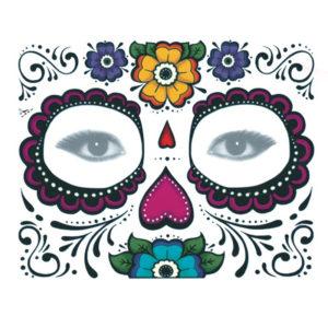 10st Engångsklistermärke för ögonskugga Magic Eye Face Temporary Tattoo For Halloween Party
