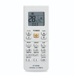 5000 i 1 Universal luftkonditionering fjärrkontroll KT-9018E LCD AC Fernbedienung