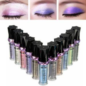 11 färger Glitter Eyeshadow Stick Makeup Tool Eyeshadow Liner Pen Pencil Cosmetic
