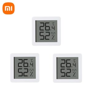 4st XIAOMI Miaomiaoce Mini Version Elektrisk termometer Hygrometer LCD-skärm Hög precision Temperaturfuktighetssensor