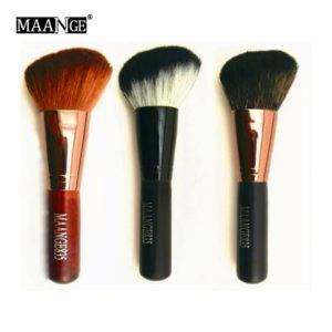 1pcs Flat Makeup Brushes Facial Face Cosmetics Blush Foundation Cream Powder