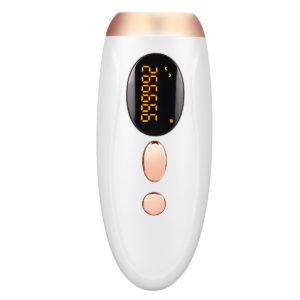 2-in-1 IPL Laser Skin Rejuvenation Hair Removal 999999 Flash Handheld Epilator LCD Display Safty Painless Arms Legs Back Underarms