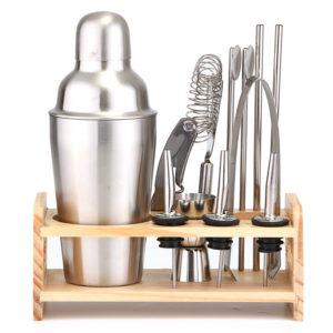 12PC 350ML Cocktail Shaker Set Maker Mixer Martini Spirits Bar Bartender Set Kit