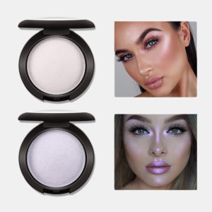 MISS ROSE Highlighter Face Makeup Monochrome Diamond Baking Loose Powder polarized high-gloss powder long-lasting brightening repairing