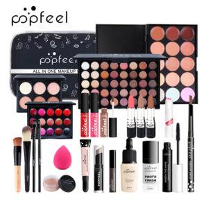 POPFEEL 24Pcs Makeup Cosmetics Set Concealer Eye Shadow Modification Brightening Isolated Beauty