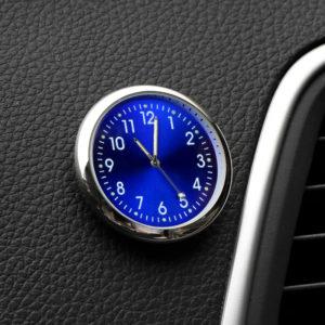 [Magnetisk design] VST CL-002 bilklocka Luminous Mini Automobiles Intern Digital Watch Mechanics Quartz Clocks Presents